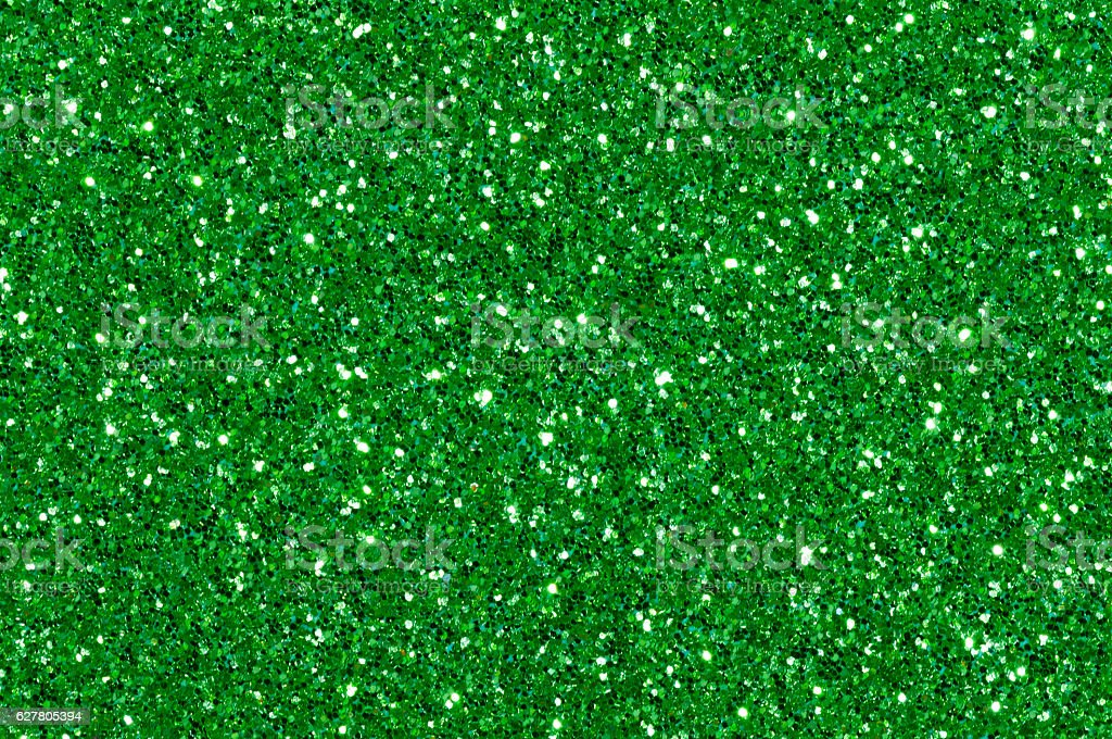 green glitter texture abstract background stock photo