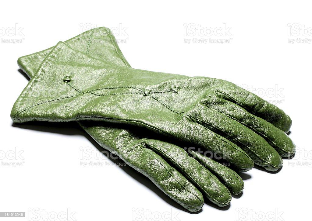 green glove royalty-free stock photo