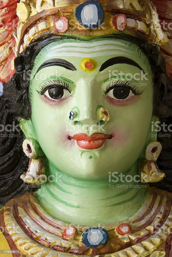 Green goddess royalty-free stock photo