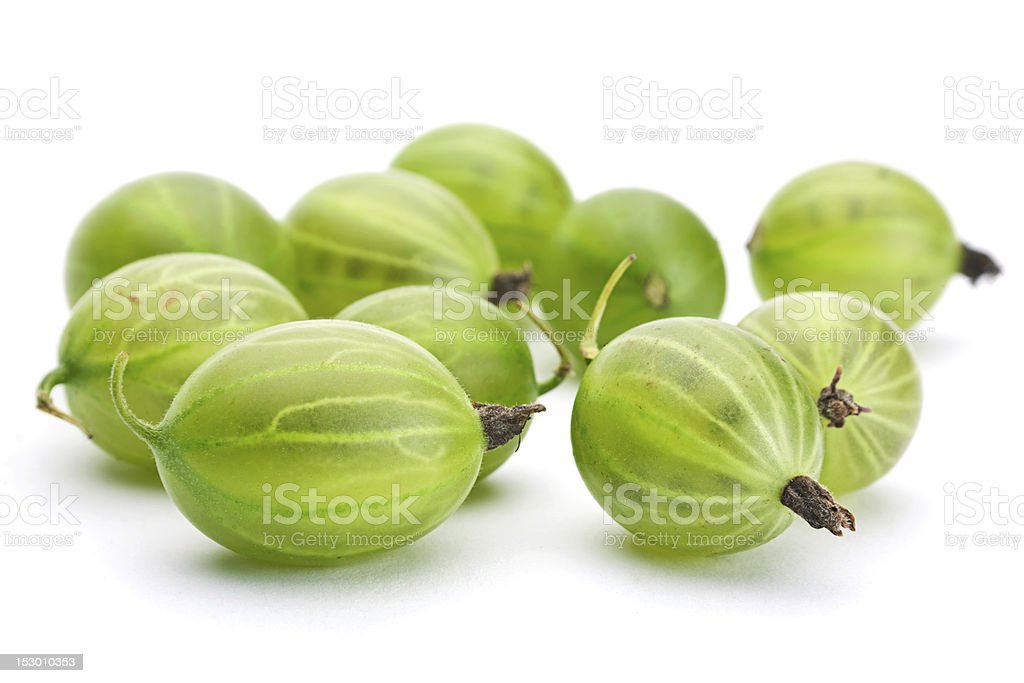 Green gooseberry royalty-free stock photo