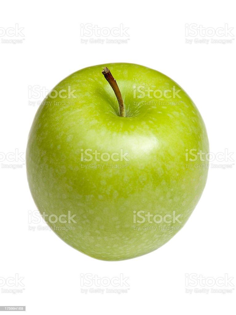 Green Granny Smith Apple royalty-free stock photo