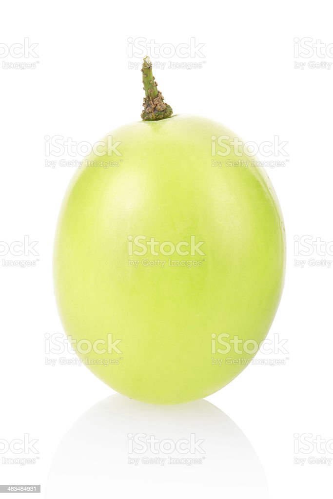 Green grape berry stock photo