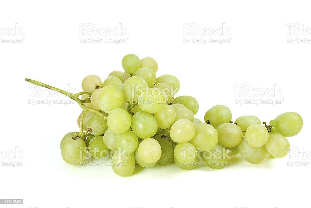 Cacho de uvas Verdes (muscat raça foto de stock royalty-free