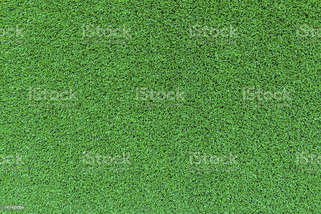 Green grass field vector art illustration