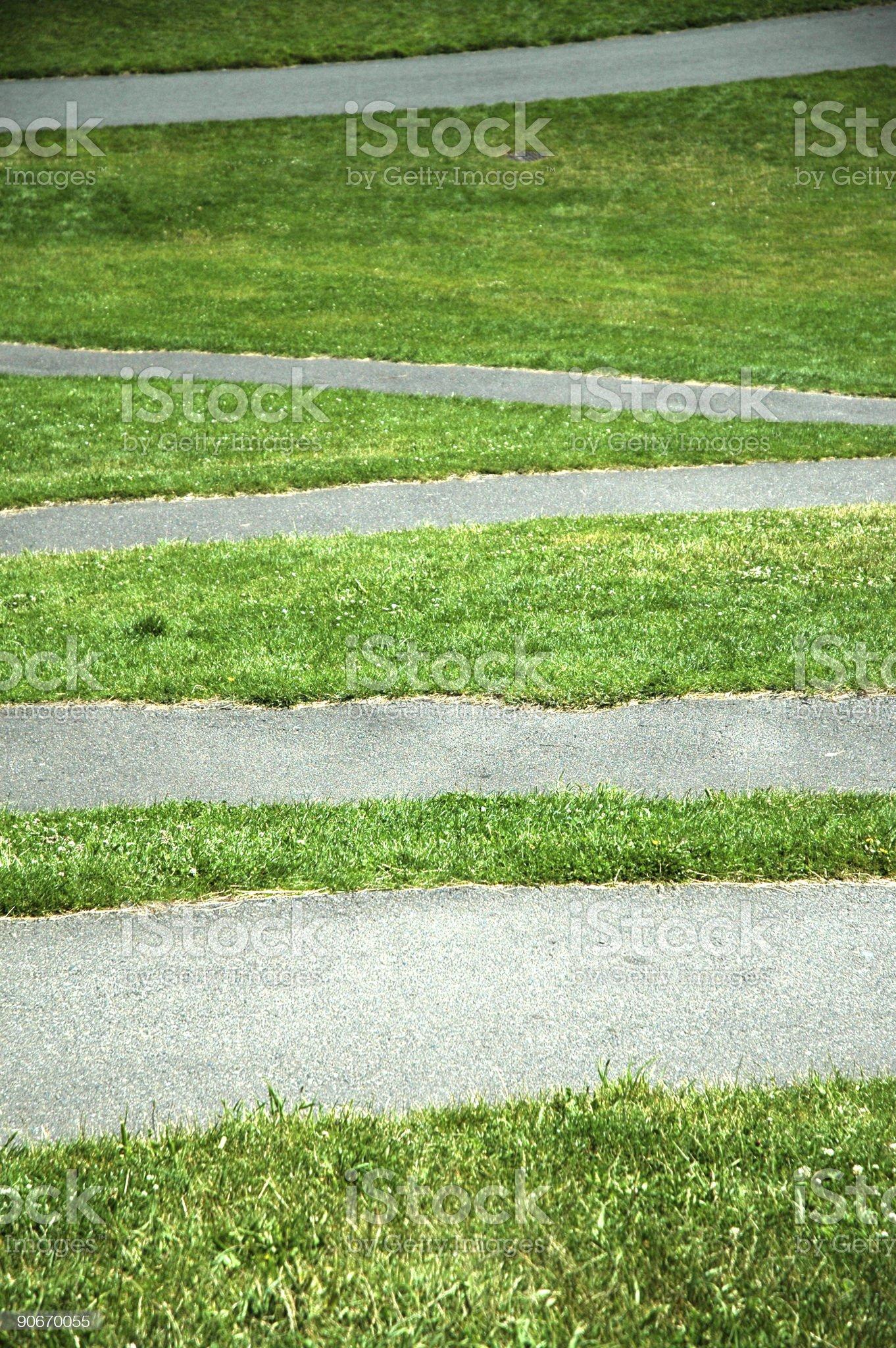 Green Grass Pattern 2 royalty-free stock photo