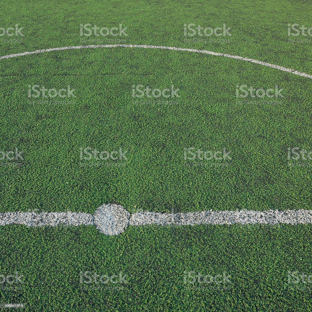 green grass soccer field, sport game background royalty-free stock photo