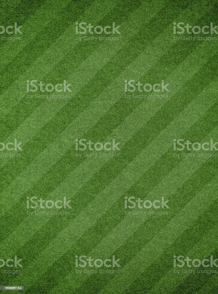 Green grass textured background with stripe royalty-free stock photo
