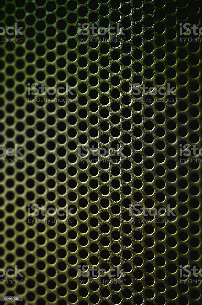 Green Grid royalty-free stock photo