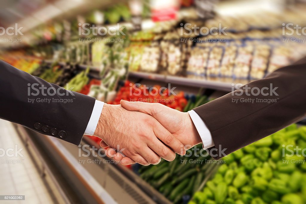 Green Grocer stock photo