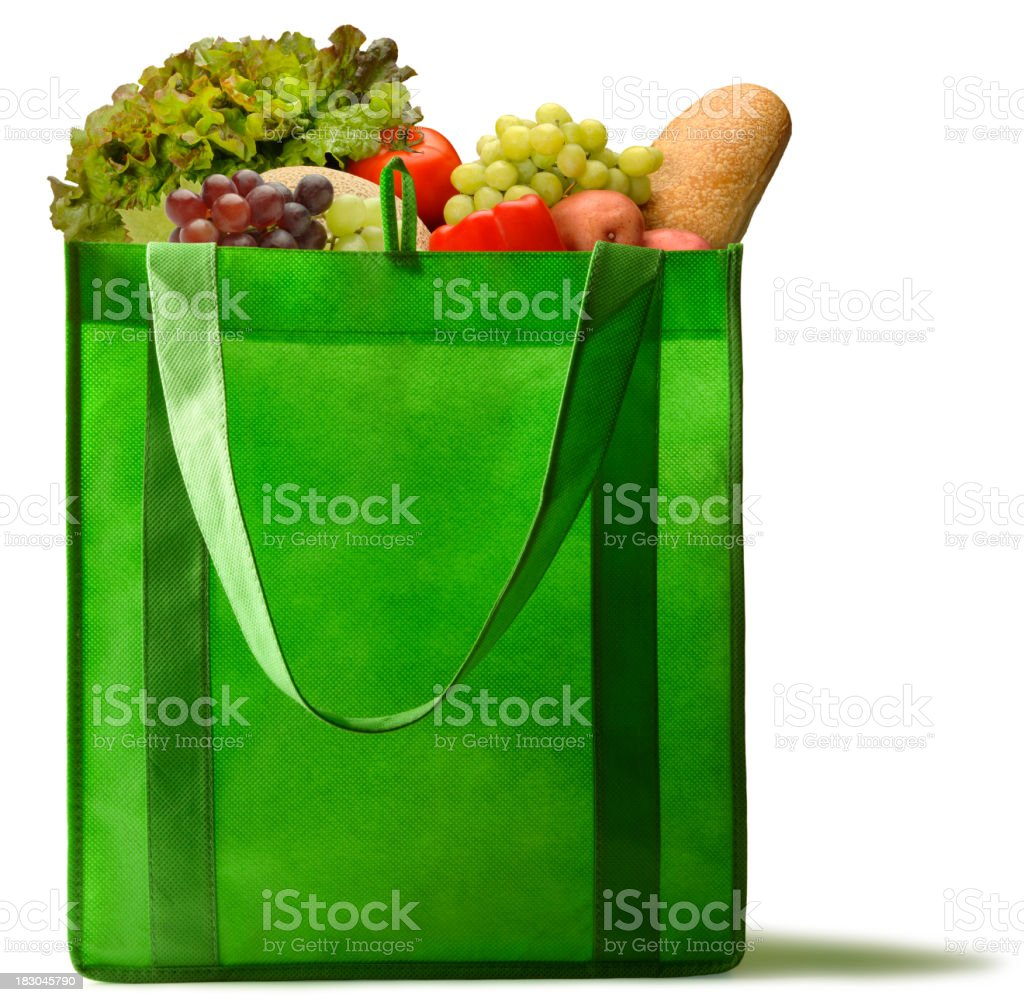 Green Groceries royalty-free stock photo