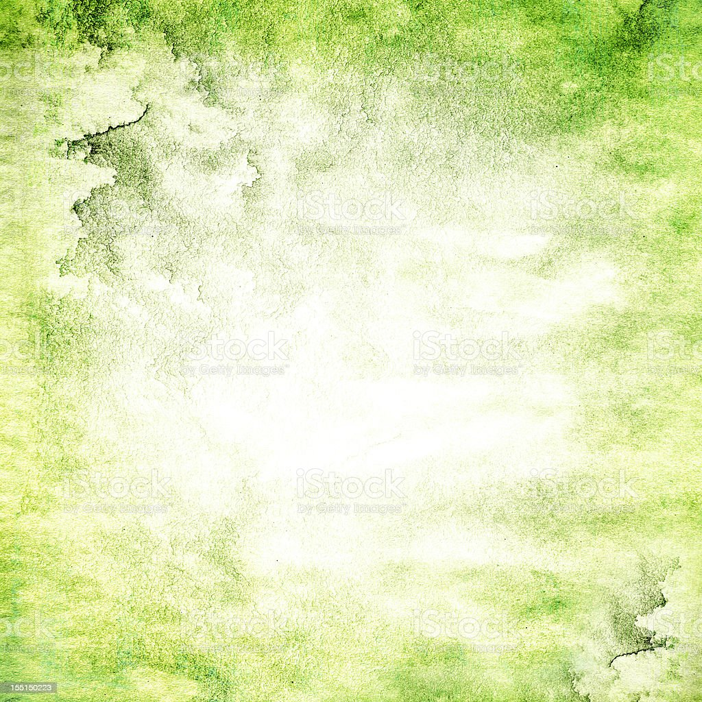 Green grunge textured royalty-free stock photo