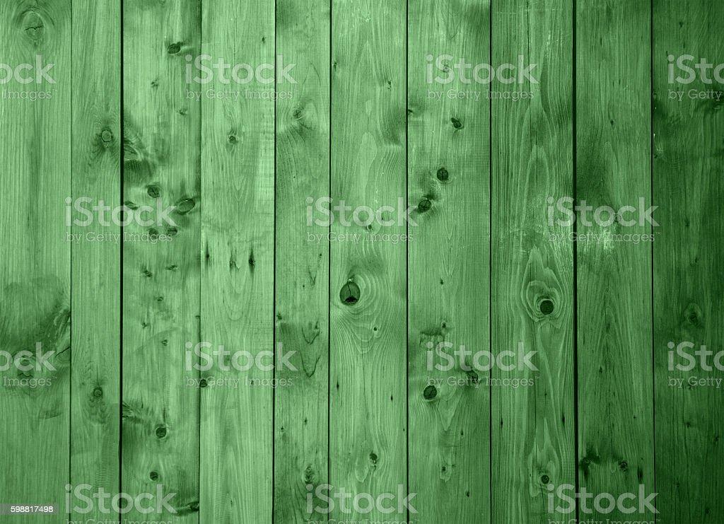 Green Grunge Wood Background stock photo