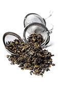Green Gunpowder tea.