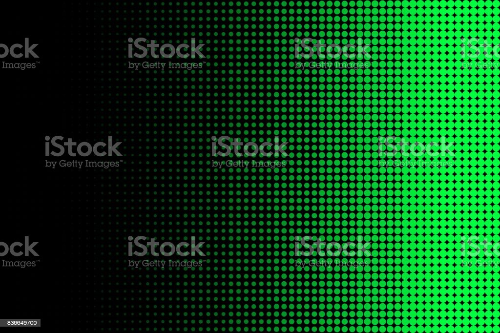 Green Halftone Abstract Background stock photo
