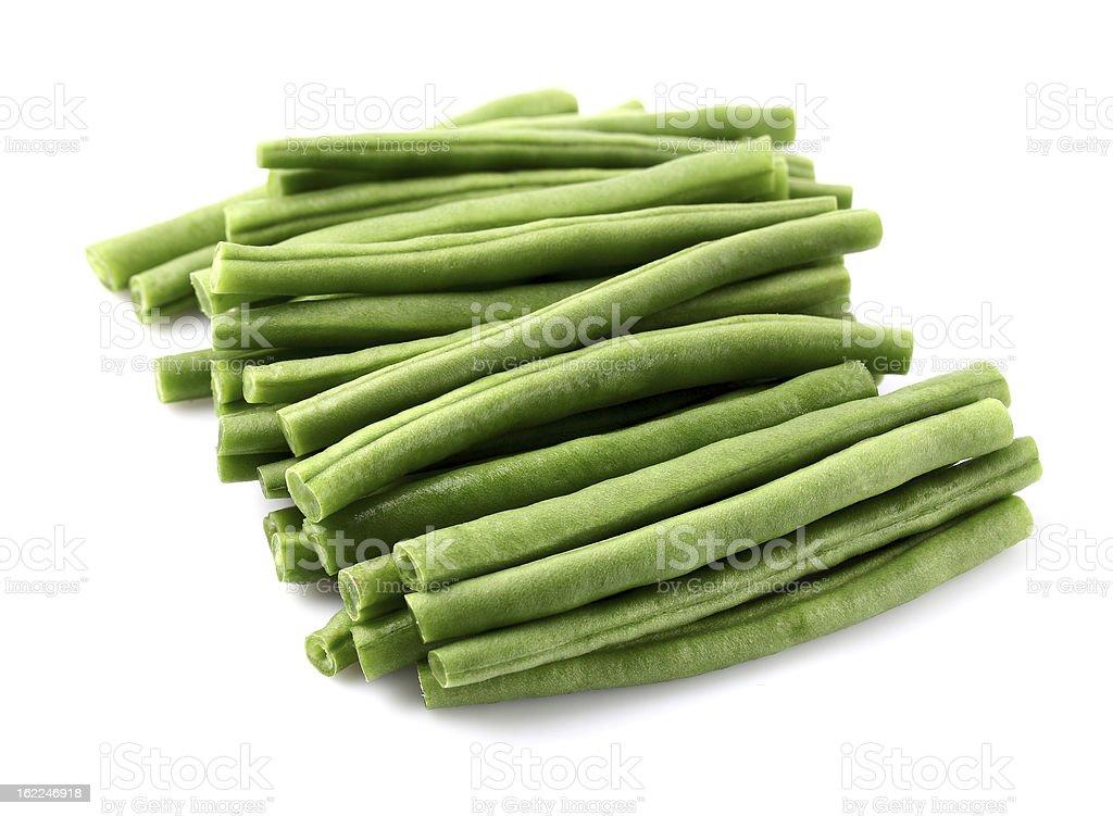 Green haricot royalty-free stock photo