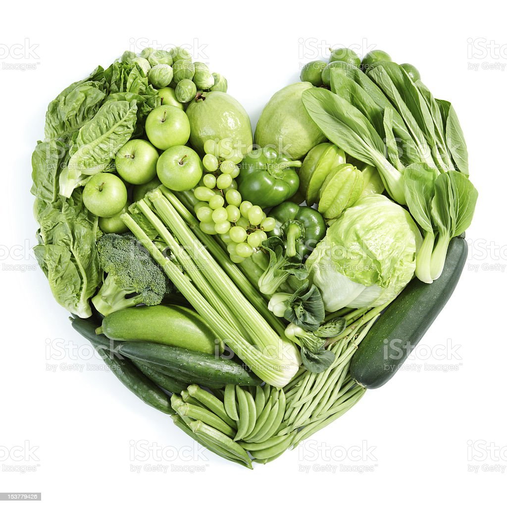 green healthy food stock photo