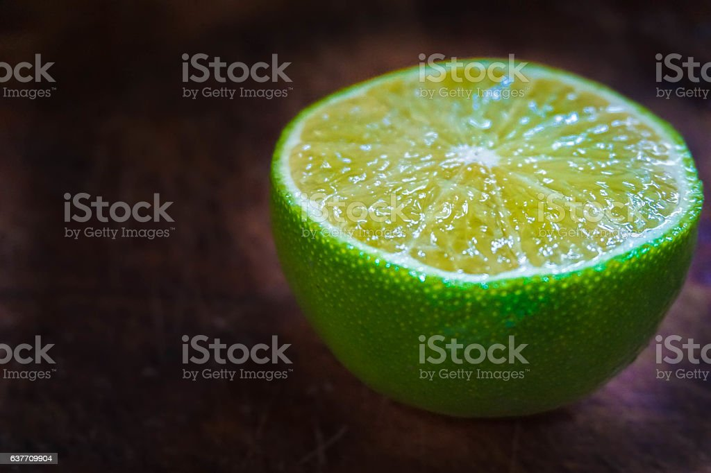 green healthy lemon stock photo