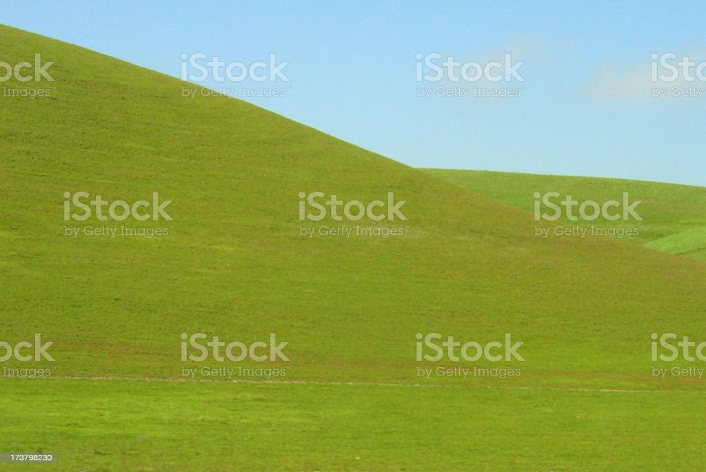 green hills royalty-free stock photo