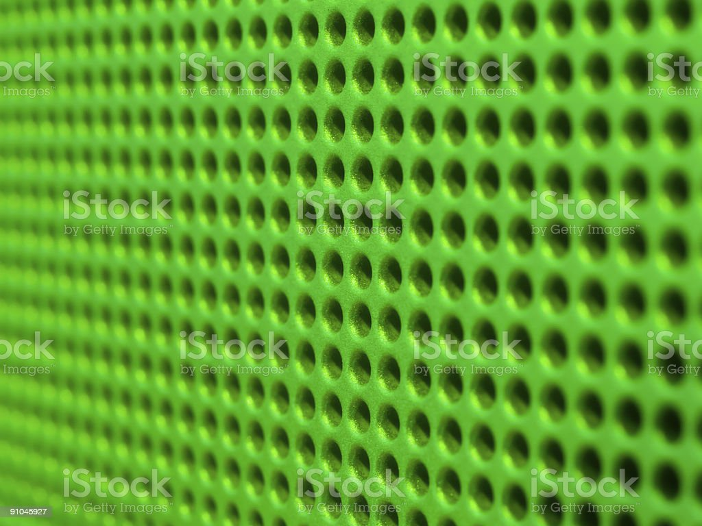 Green holes royalty-free stock photo