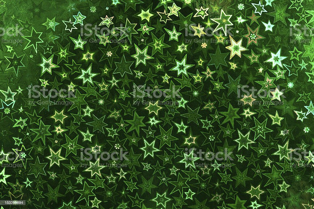 Green holographic paper royalty-free stock photo