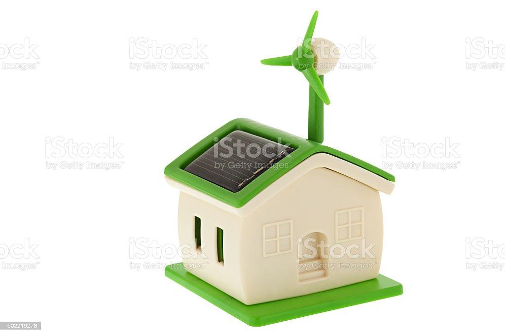 Green home stock photo