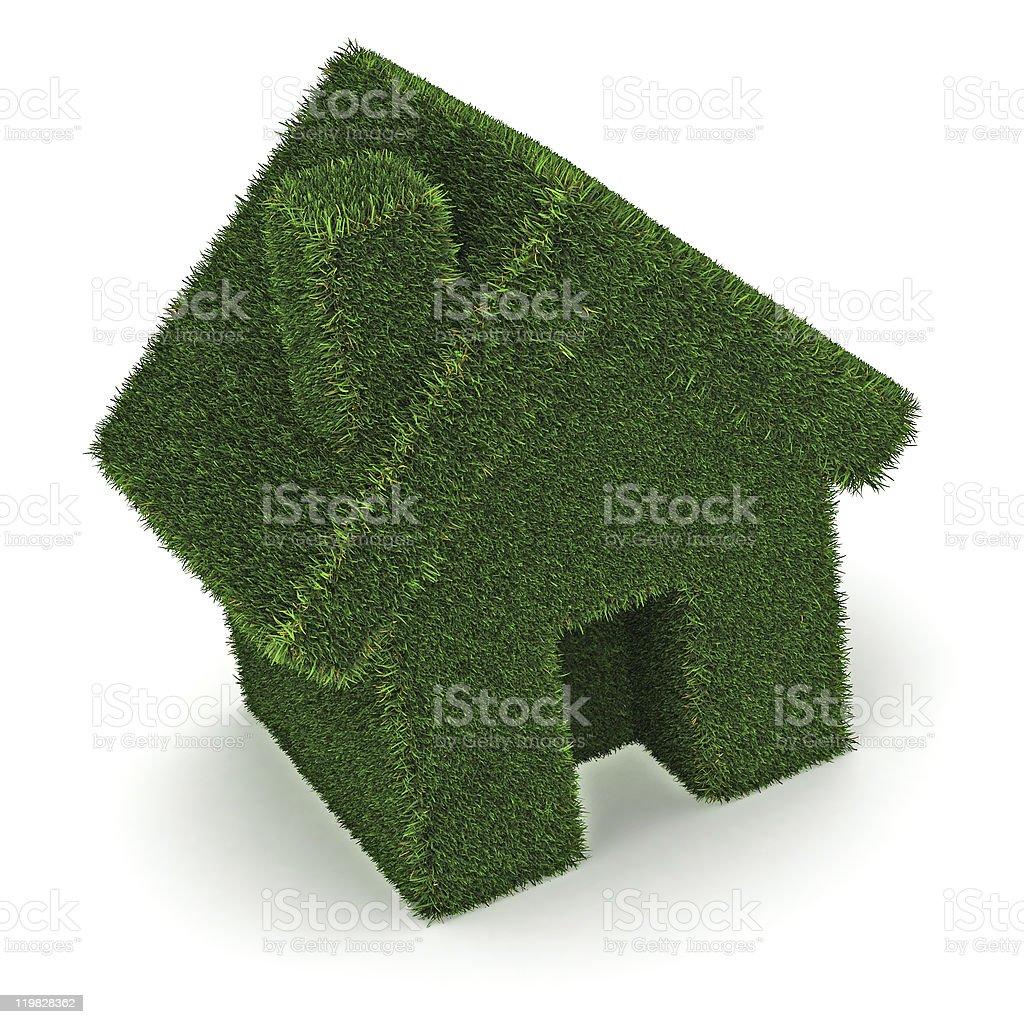 'Green' House stock photo
