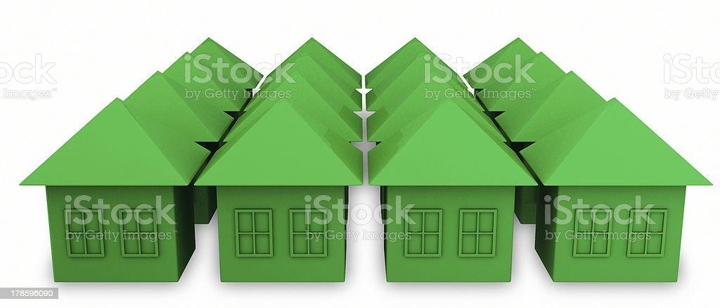 Green House royalty-free stock photo