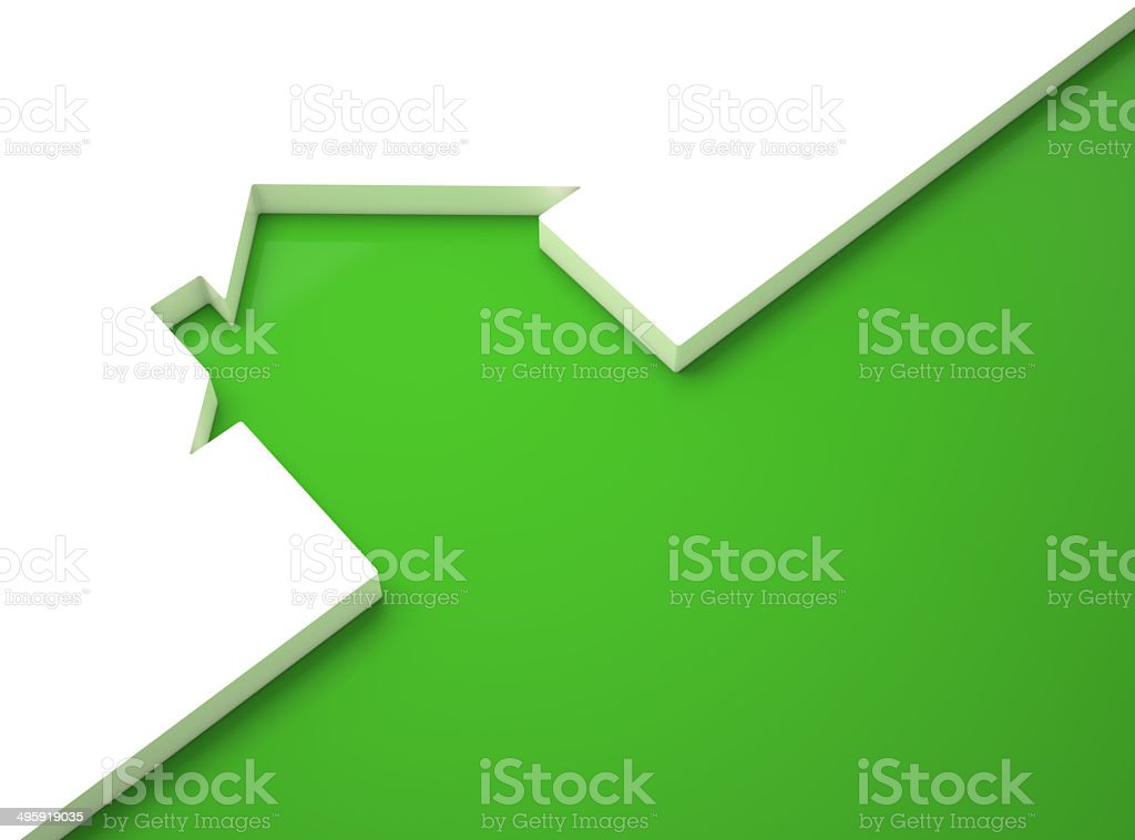 Green House stock photo
