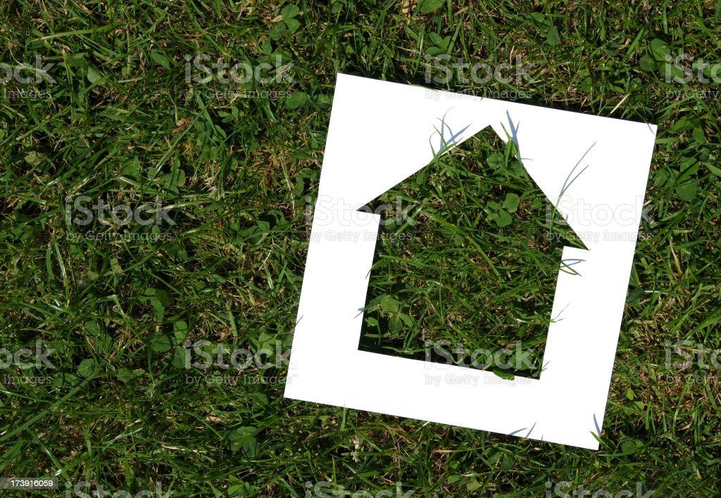 Green Housing royalty-free stock photo