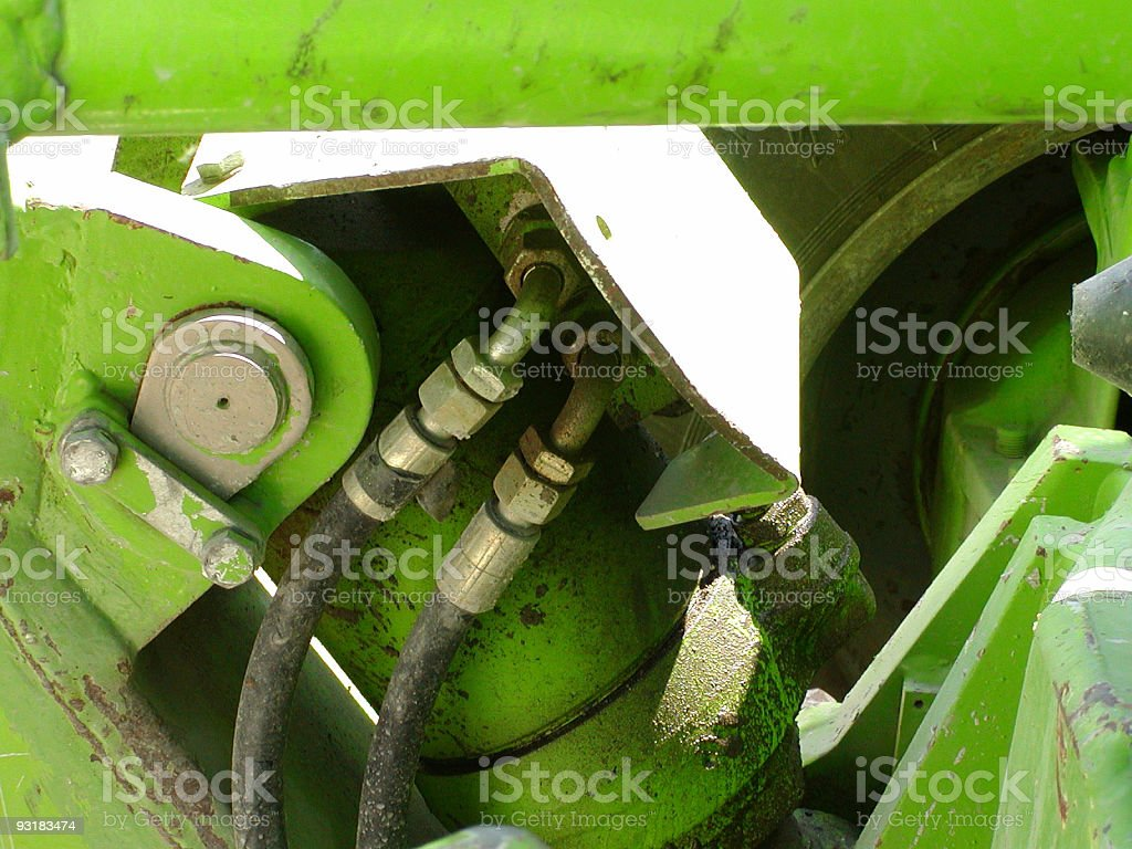 green hydro royalty-free stock photo