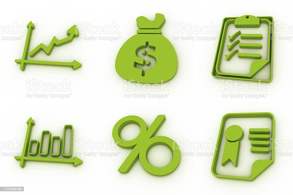 green icons - exchange royalty-free stock photo