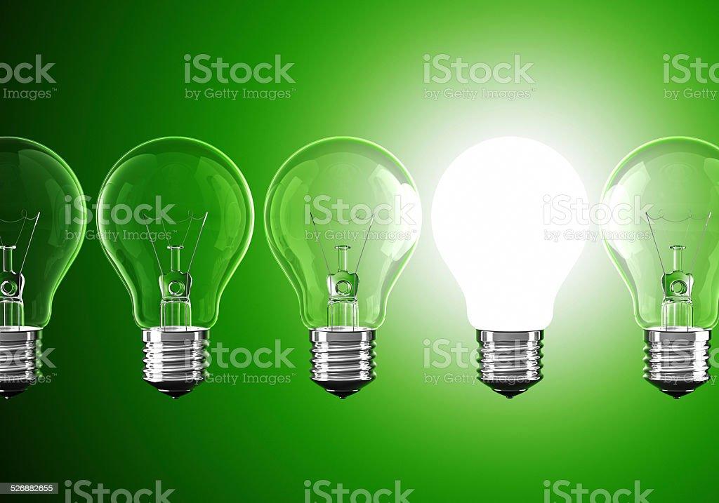 Green Idea stock photo
