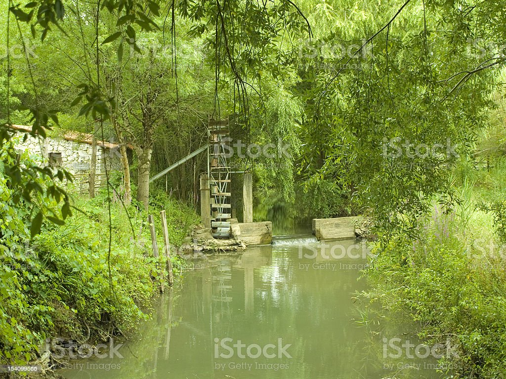 Green idyllic place royalty-free stock photo