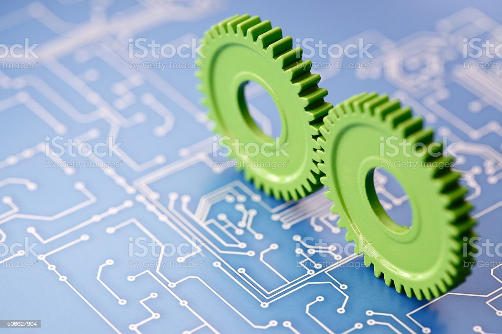 Green Industry Concept stock photo