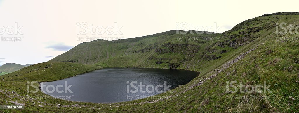 Green Irland with Sea royalty-free stock photo