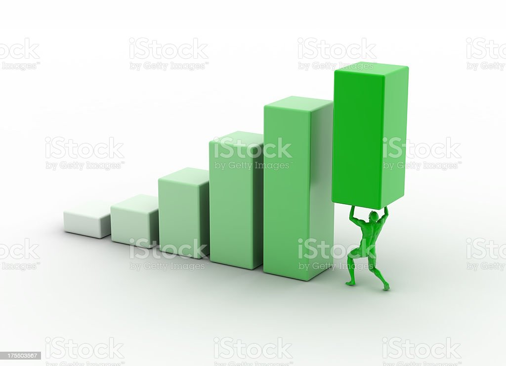 Green is the color royalty-free stock photo