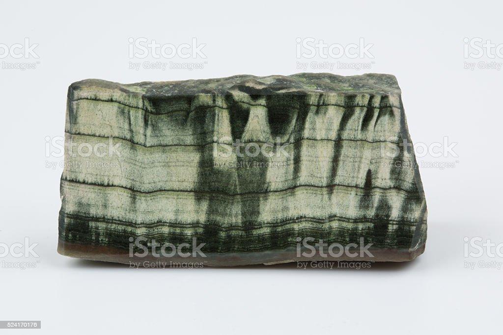 Green jade. Natural natural mineral stock photo