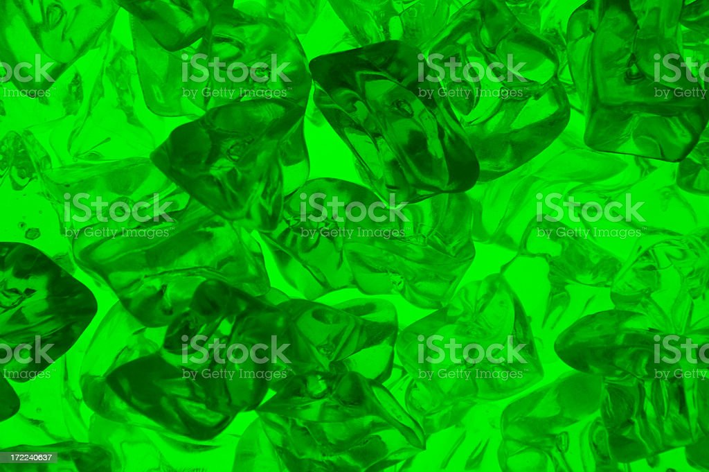 Green Jello stock photo
