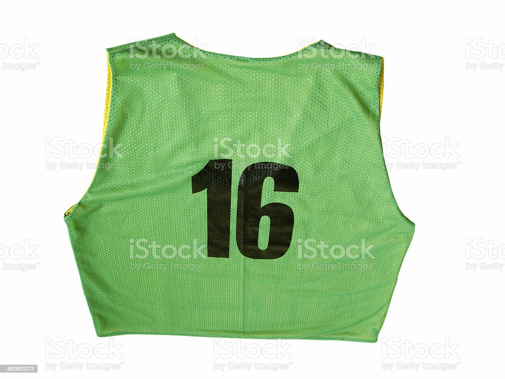 Green Jersey royalty-free stock photo