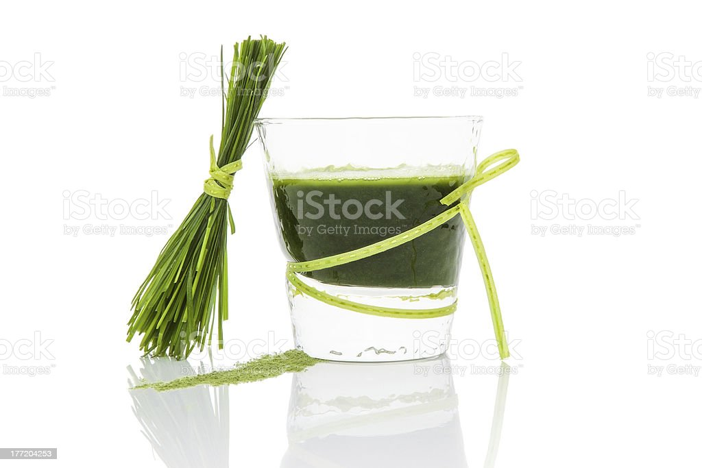 Green juice. stock photo