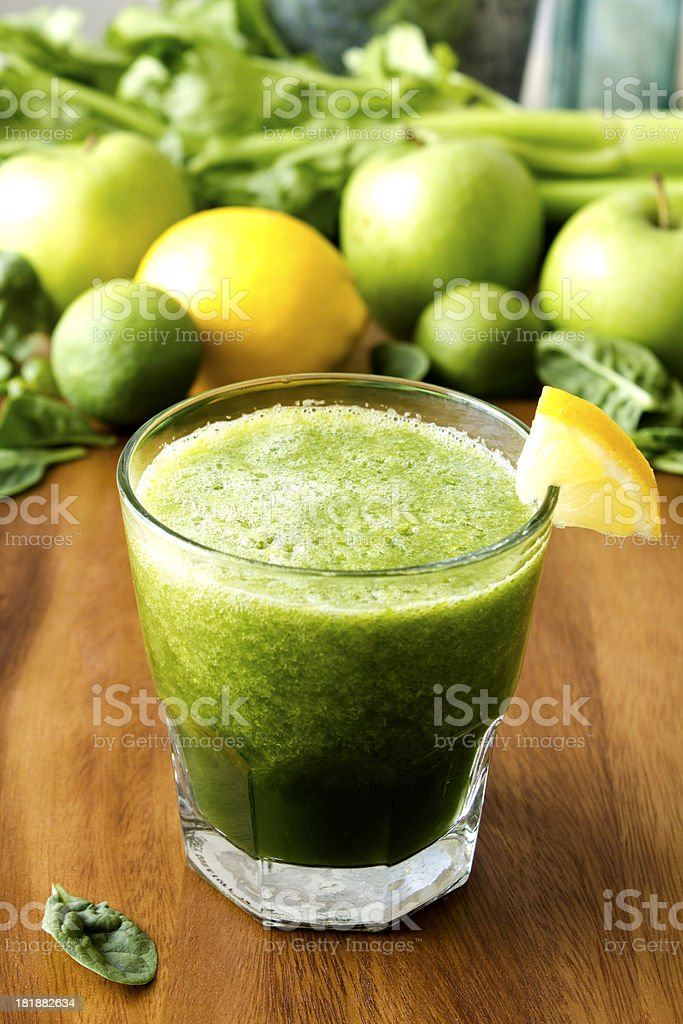 Green Juice royalty-free stock photo