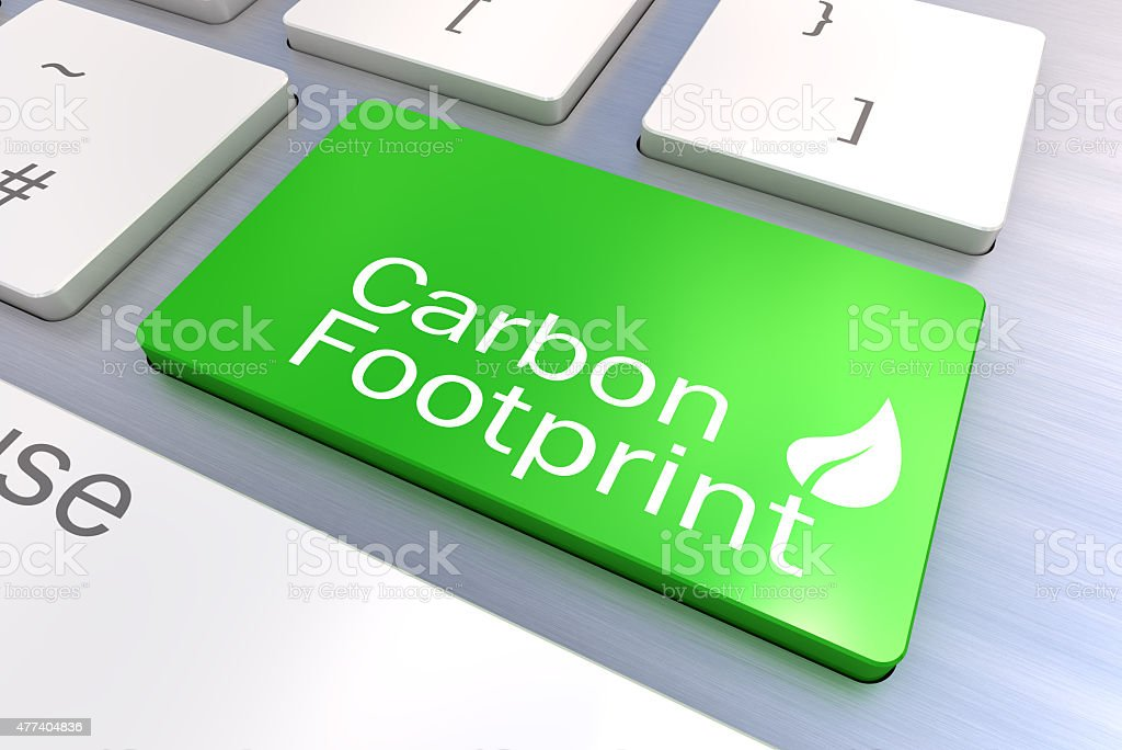 Green keyboard button stock photo