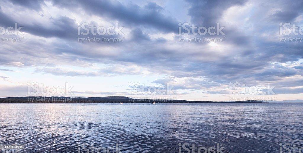 Green Lake royalty-free stock photo