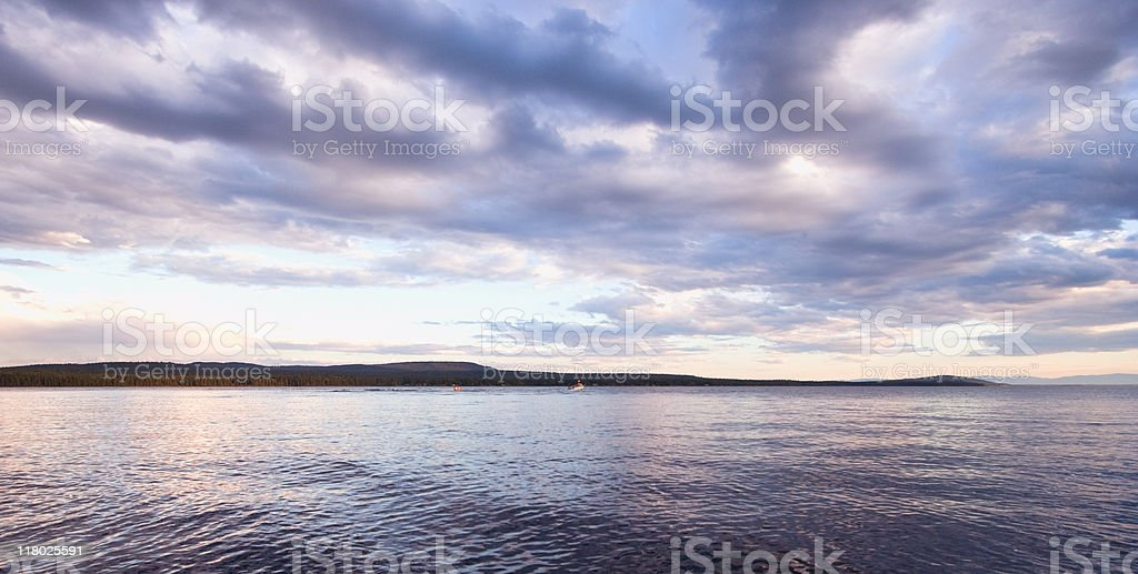 Green Lake stock photo