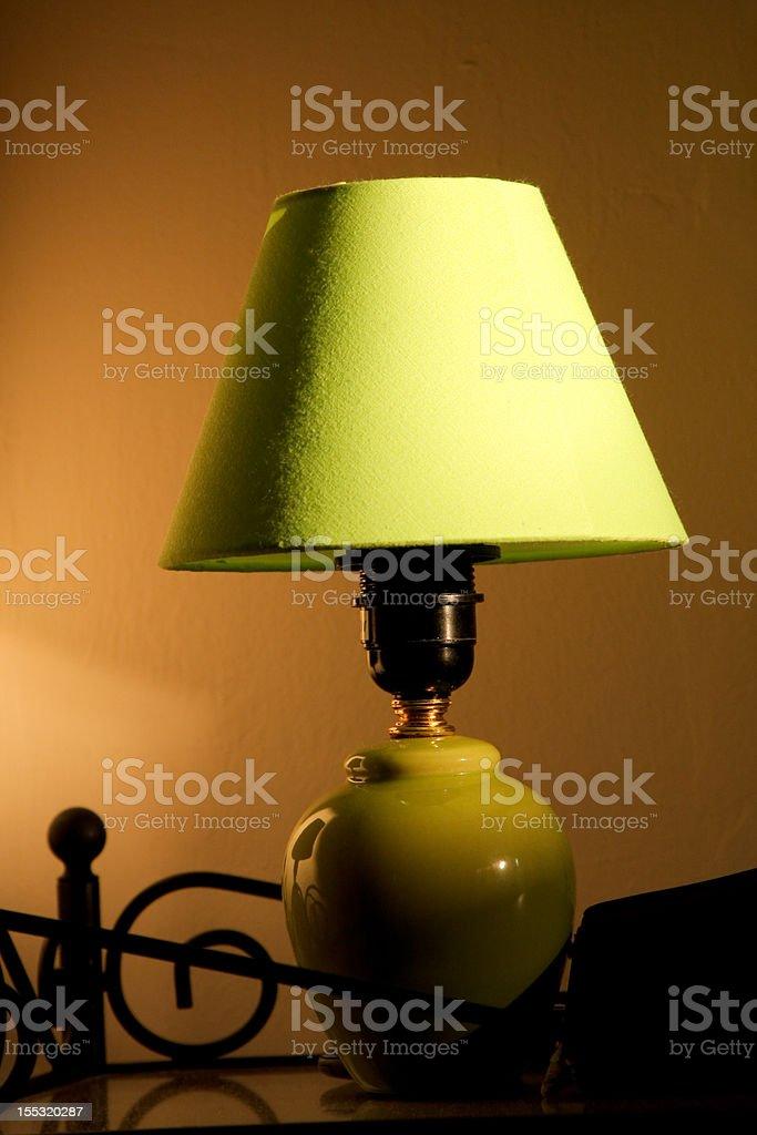green lamp royalty-free stock photo