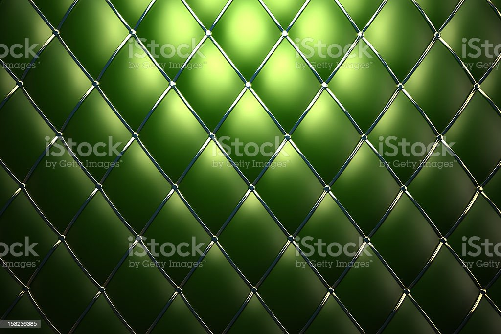 Green leather pattern background stock photo