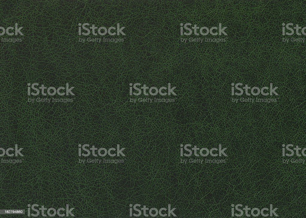 Green leather. stock photo