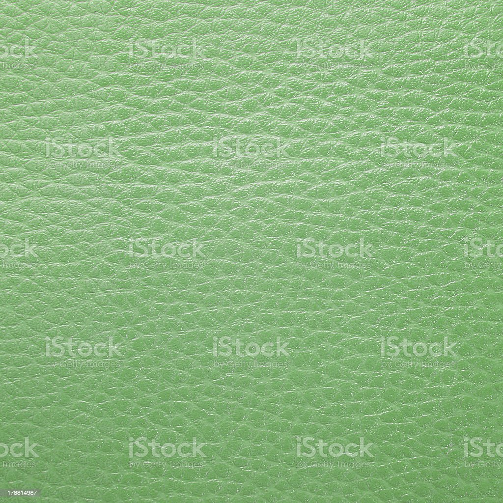 green leather texture royalty-free stock photo