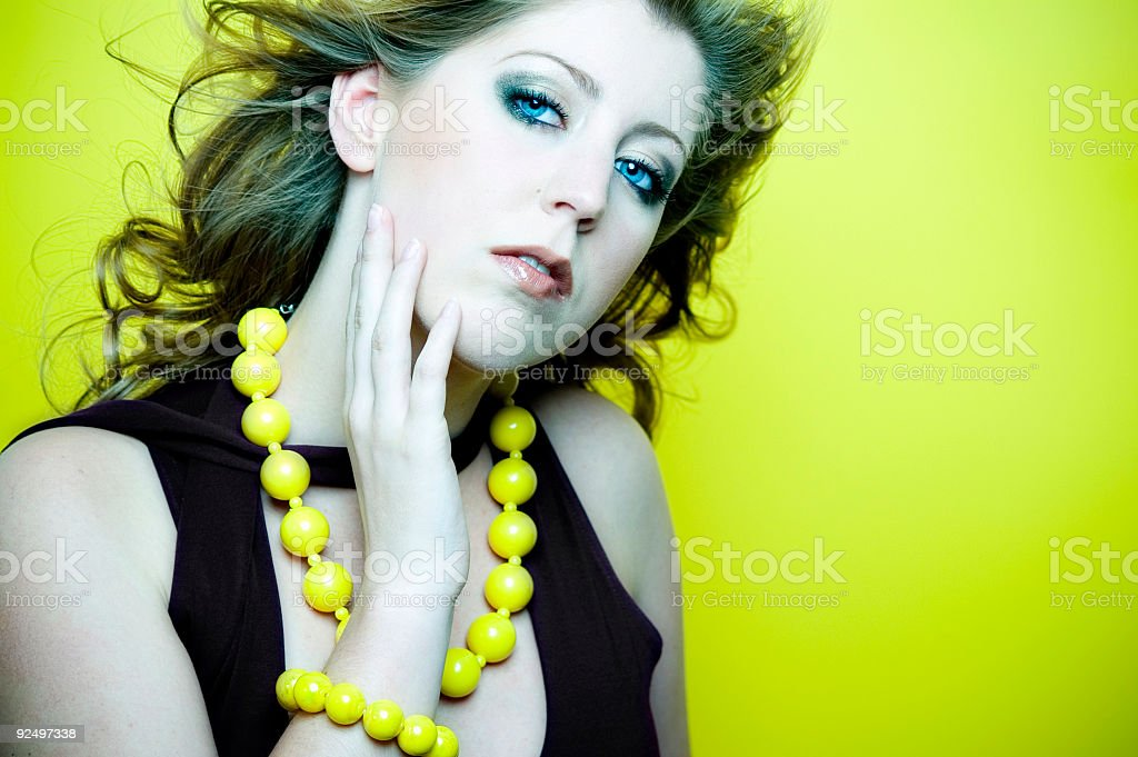 Green Lemon Dream stock photo