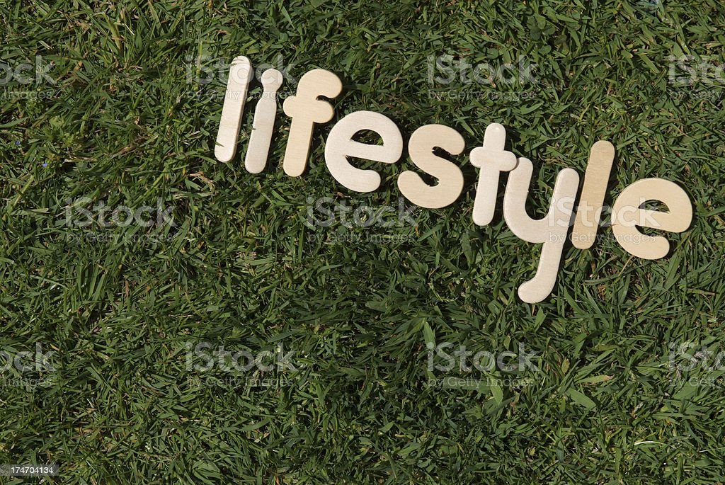 Green Lifestyle royalty-free stock photo